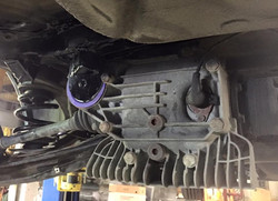 Diff Installed with reinforcement kit