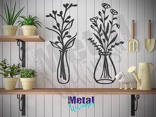 Flower Themed Wall Art