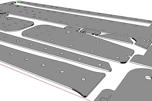 BMW 318ti Differential mount reinforcement kit