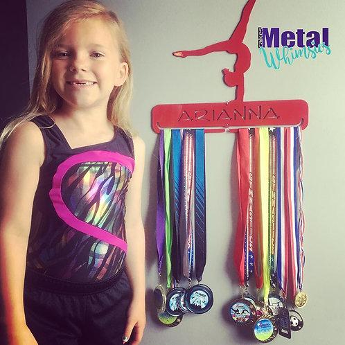 Medal and Ribbon Hanger - Gymnastics