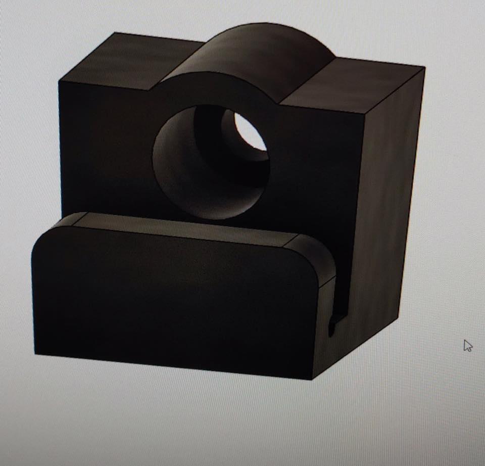 3D printed wall mounts