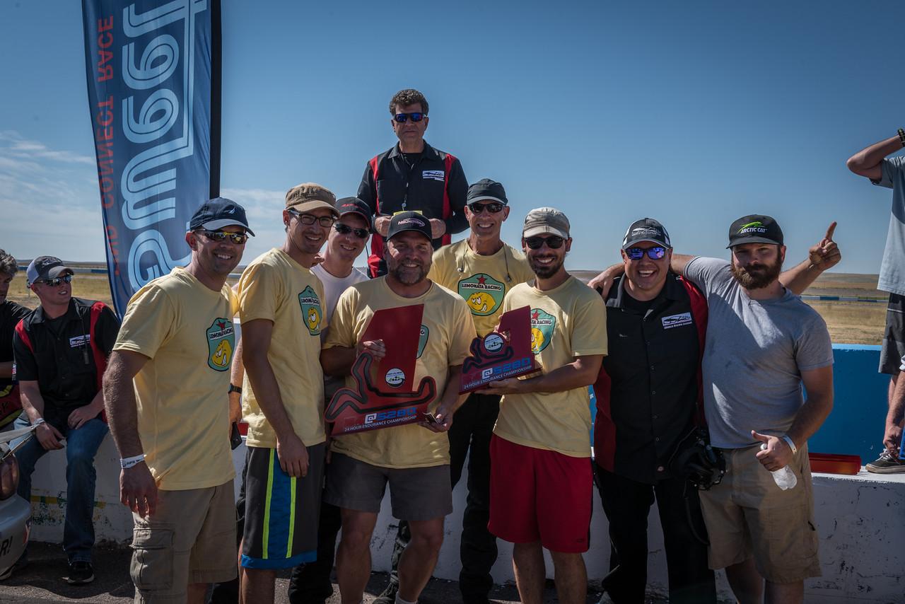 WRL Podium winners