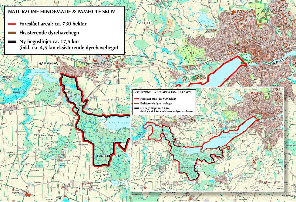Udvidelse af Naturzone Hindemade & Pamhule Skov