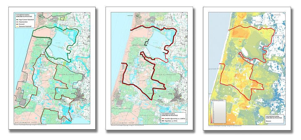 Naturzone Fisø & Kærgård Klitplantage (kortmateriale)