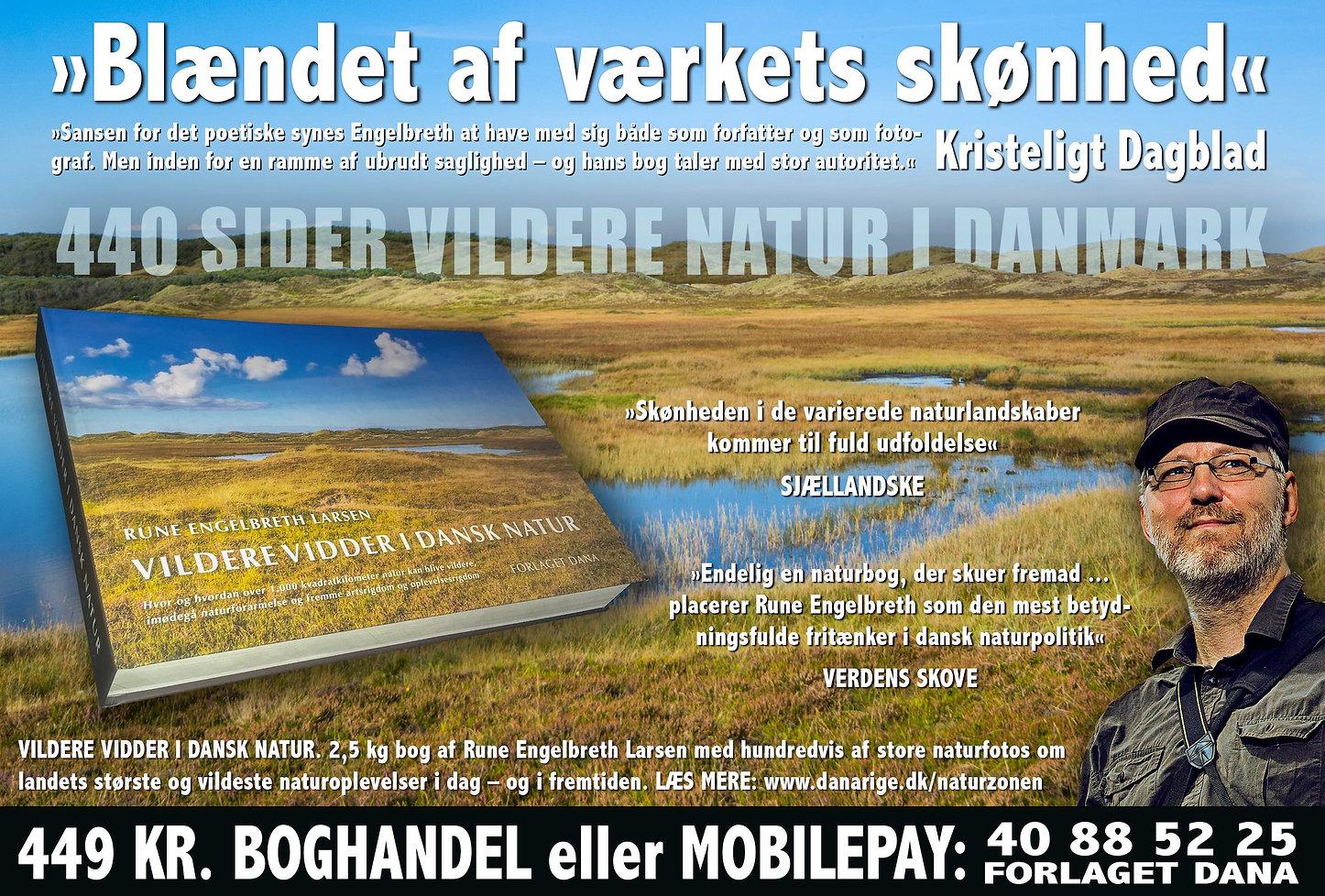 Køb 'Vildere vidder i dansk natur'