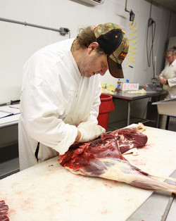 Jeff butchering