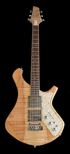 custom lightwood electric guitar