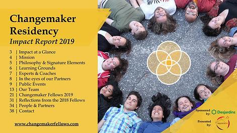 Changemaker Residency 2019 - Impact repo