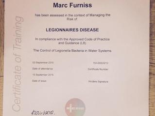 Legionella Checks!