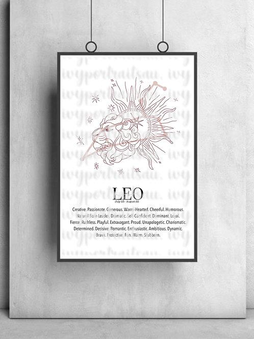 LEO Ivy Print