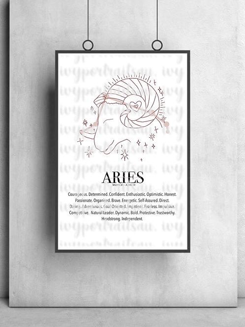 ARIES Ivy Print