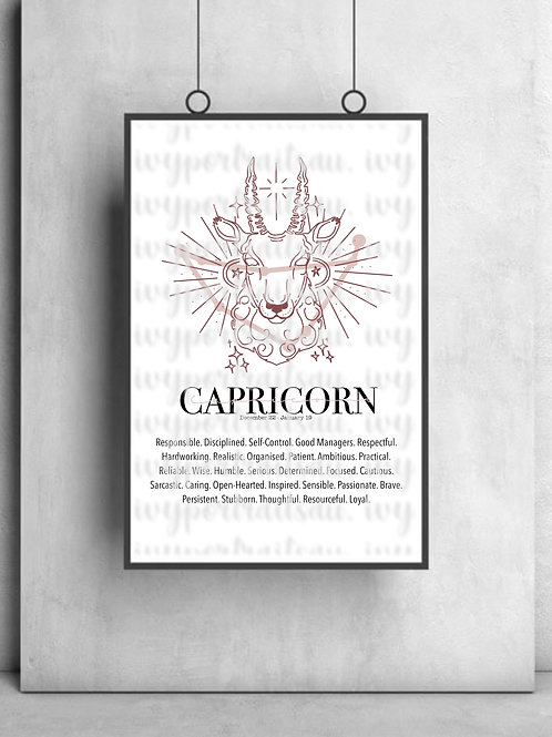 CAPRICORN Ivy Print