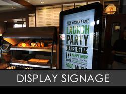 Display Interior Sign