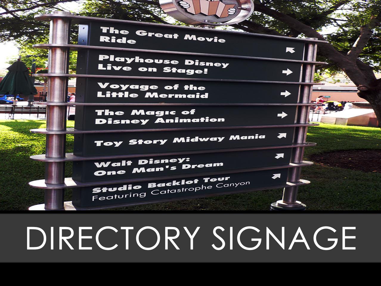 Directory Freestanding