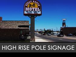 High Rise Pole Freestanding