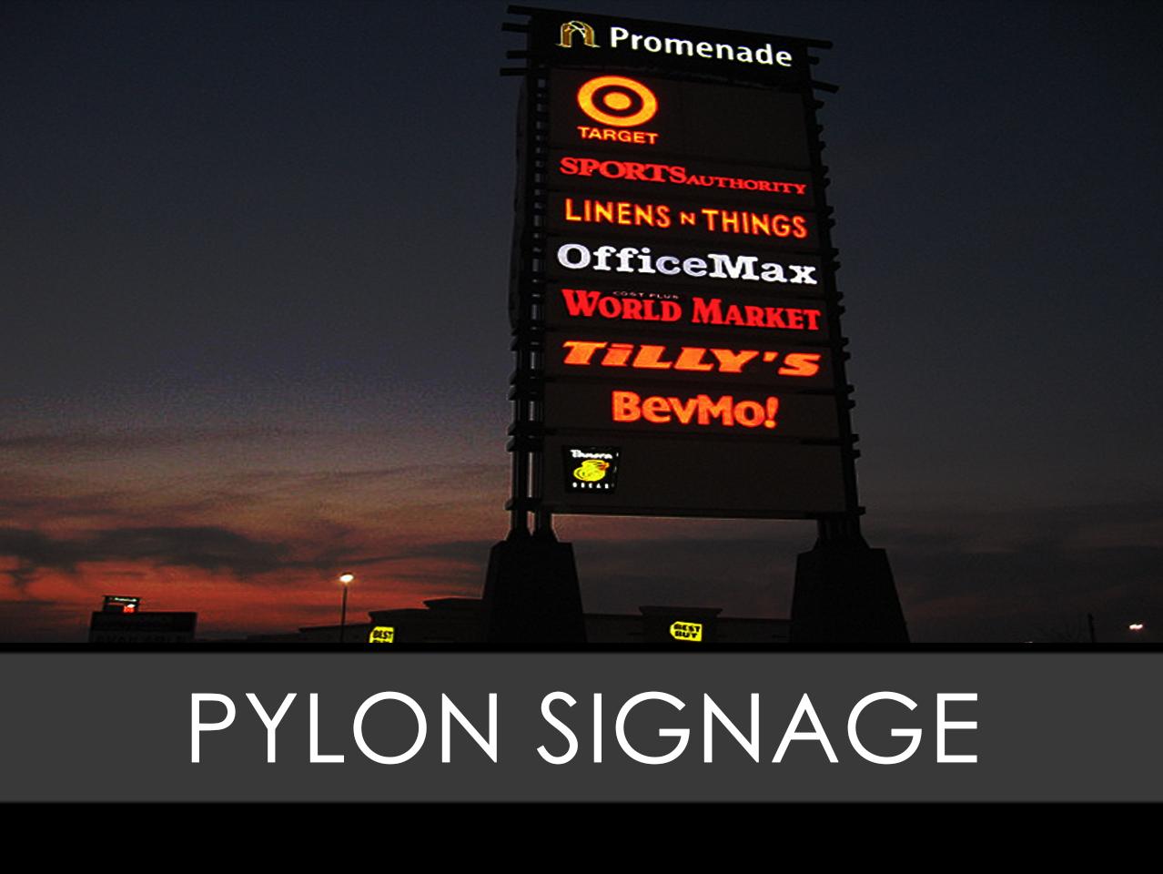 PylonFreestanding