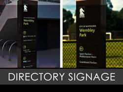 Directory Interior Sign