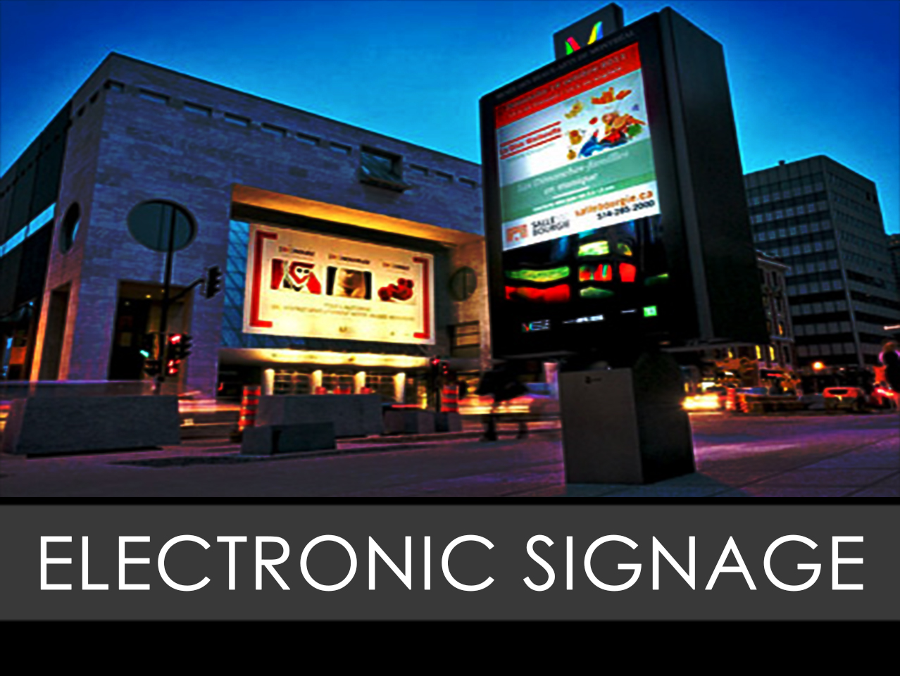 Electronic Freestanding