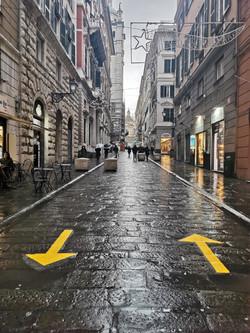 via di san lorenzo - genova