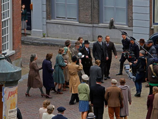 Working on a Hollywood Filmset in NL