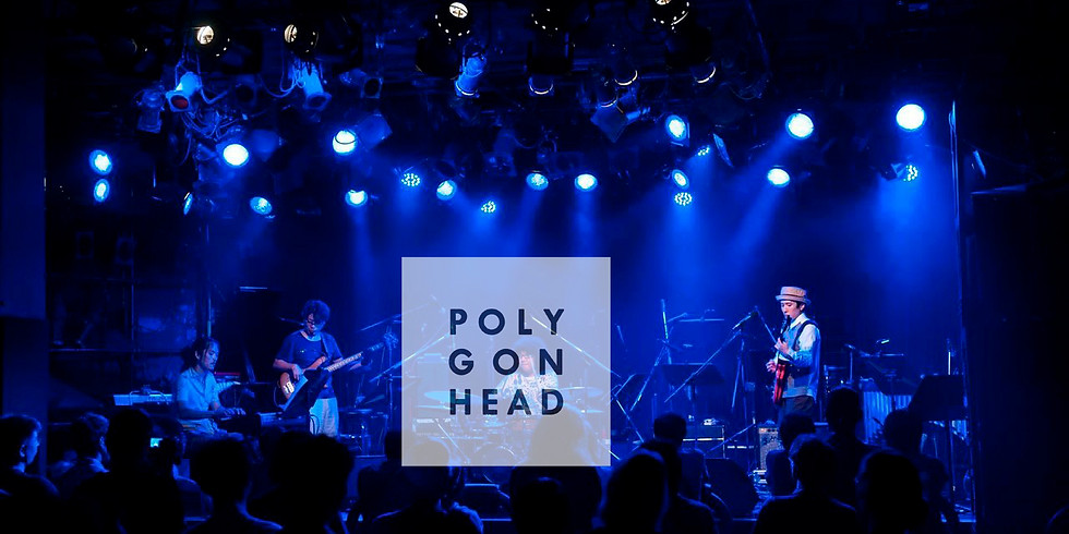 Polygon Head(band)live at 赤坂Graffiti