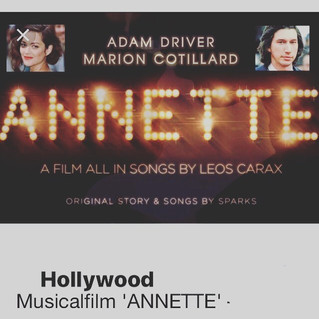 I'm cast in the Hollywood Film 'Annette'