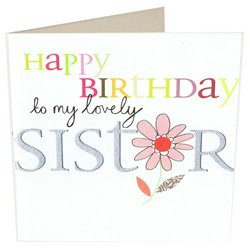 Birthday Card For Your Sister