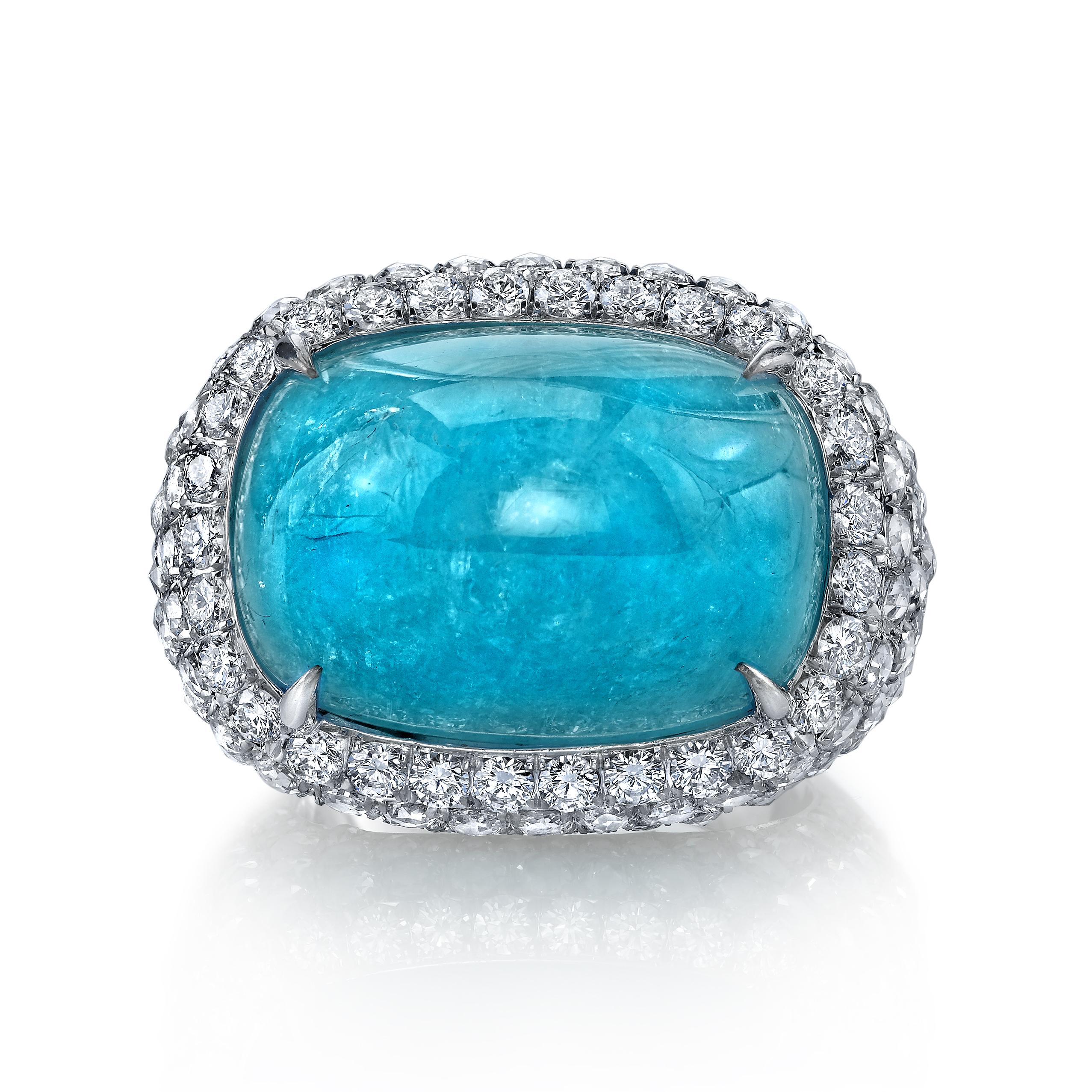 Paraiba Cocktail Ring