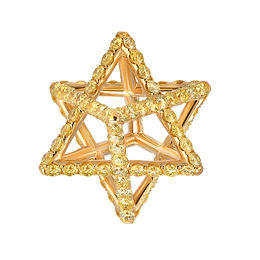 Merkaba Diamond Pendant