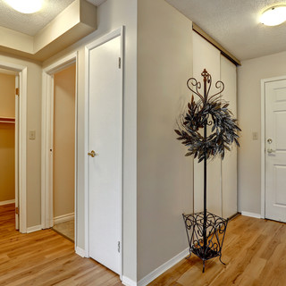 Goderich Place Suite entry door and closet