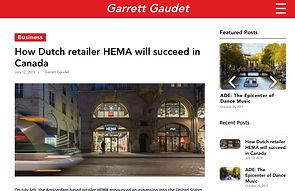 Garrett Gaudet Website