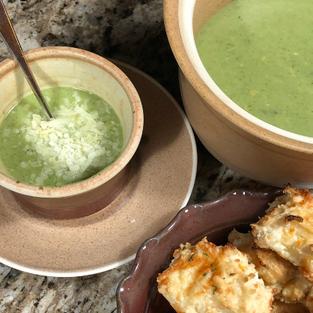 Potato & Brocolli Soup