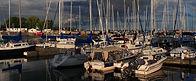 Cobourg harbour