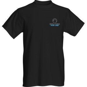 Black T-Shirt Small Original Logo