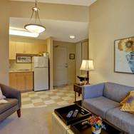 Palisade Gardens suite living room