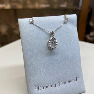 Dancing Diamond Infinity & 14K Earrings (Threaded Posts)
