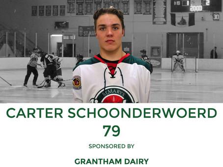 Player Profile: Carter Schoonderwoerd