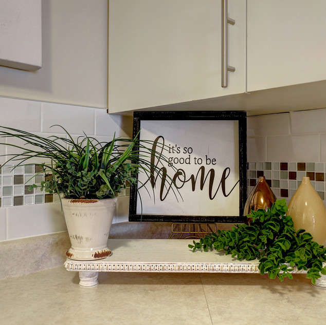 Goderich Place Suite kitchen countertop
