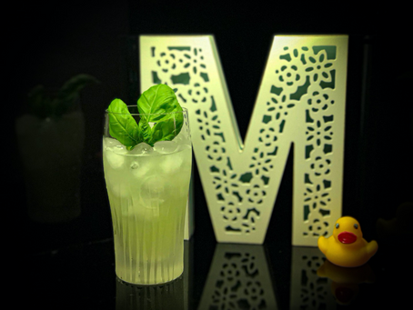 GIN BASIL SMASH – WHAT?! HOW DID I FINISH IT SO QUICKLY!!!
