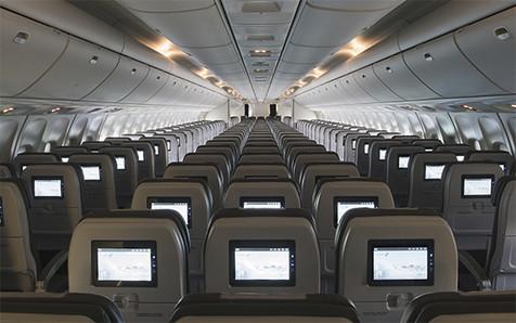 Icelandair Boeing 767 Cabin
