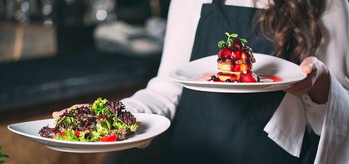 Palisade Gardens dining - food