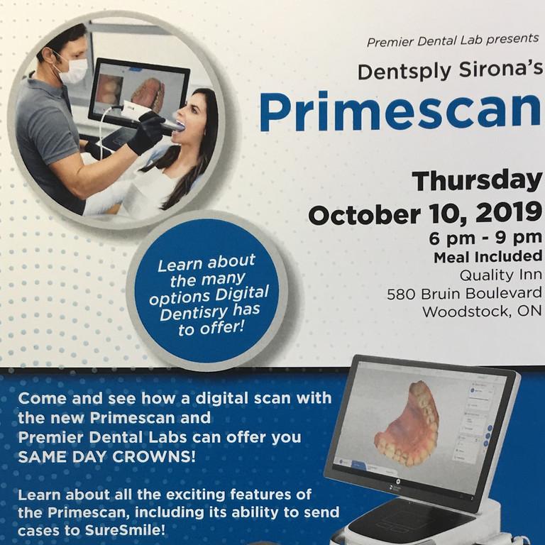 Dentsply Sirona's Primescan