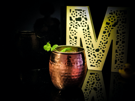 SPICY GINGER MULE - REFRESHING!