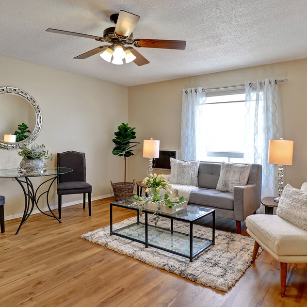 Goderich Place Suite living room