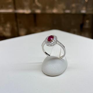 Samsara 18K Gold -Diamond/Ruby