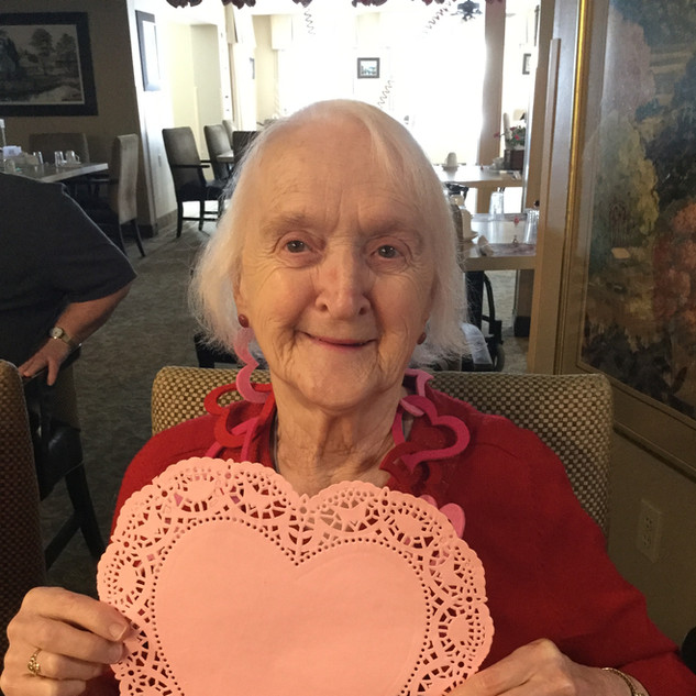 valentines days at Goderich Place