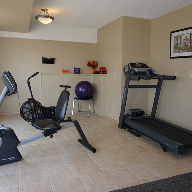Goderich Place indoor gym