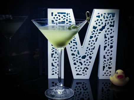 DIRTY MARTINI – NO THERE IS NO DIRT IN IT!