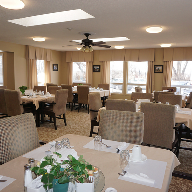 Goderich Place dining area