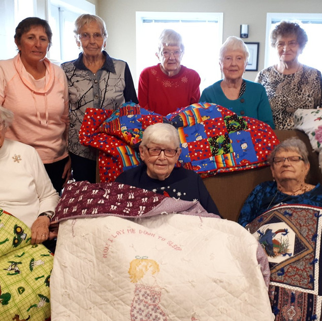 Goderich Place quilters